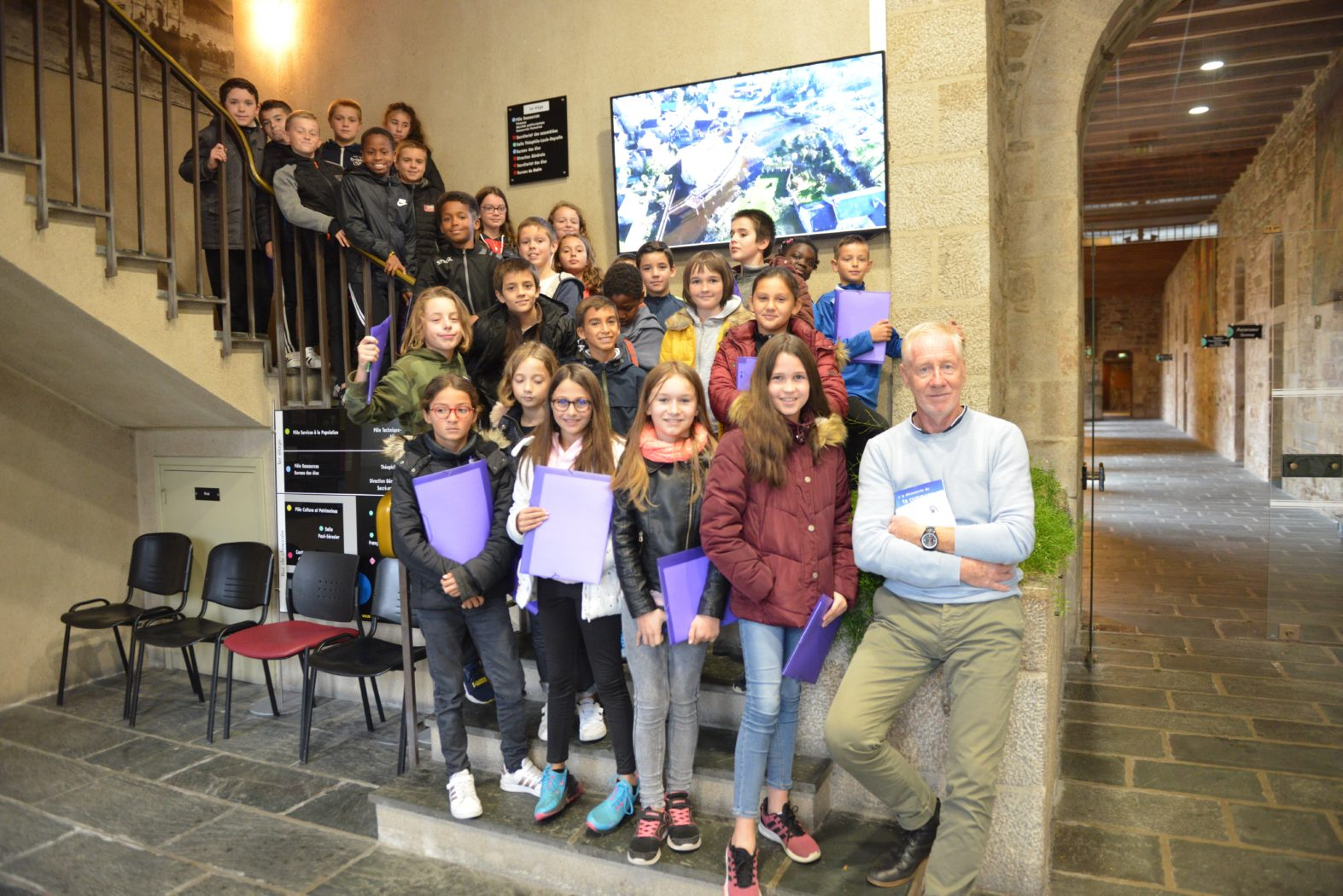 Visite de la Mairie de Guingamp