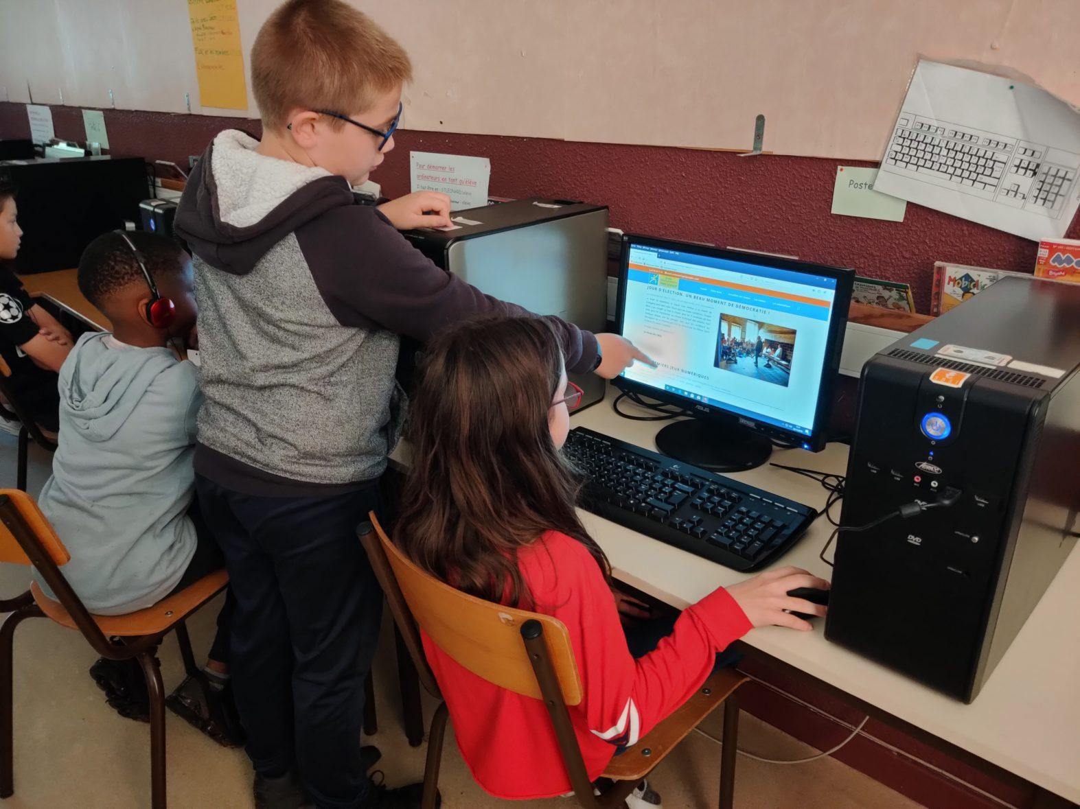 Au programme : numérique et partage de compétences