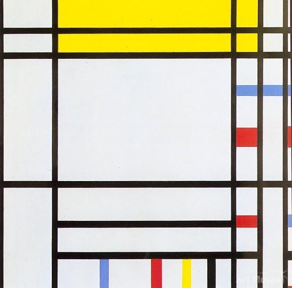 Mondrian et la géométrie