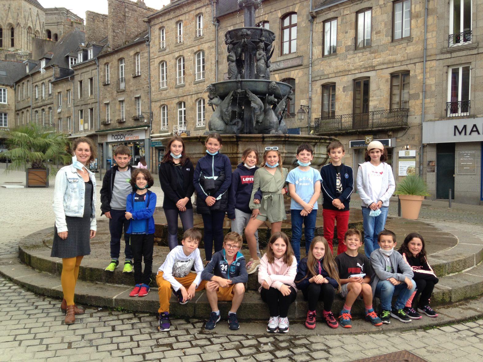 Visite du centre historique de Guingamp pour les Journées Européennes du Patrimoine – Ar re CM o weladenniñ Kreizenn istorel Gwengamp !