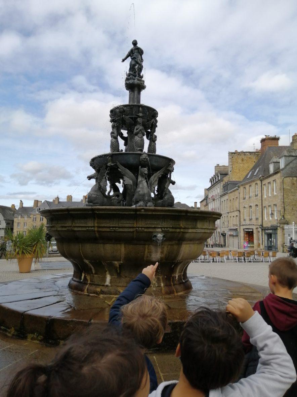 Visite de la ville de Guingamp